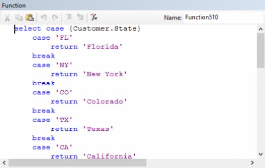 Bloco de código condicional utilizando o comando Select Case