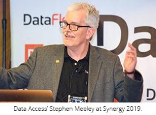 Stephen Meeley no Synergy 2019