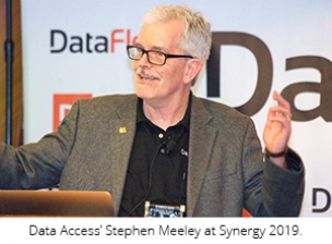Stephen Meeley no Synergy 2019