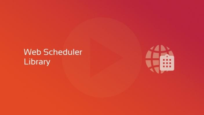 biblioteca web scheduler og