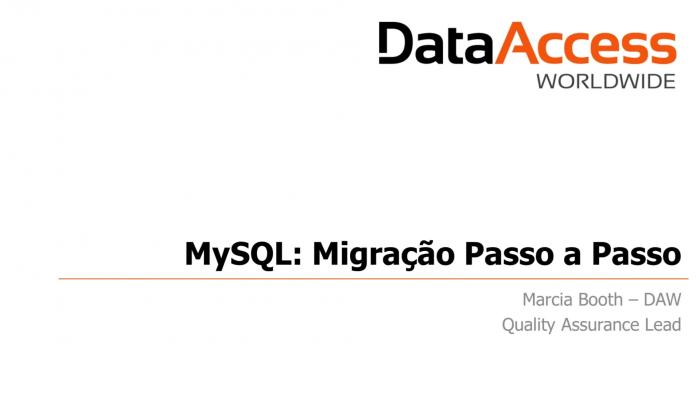 WebinarMySQLMigração_17out