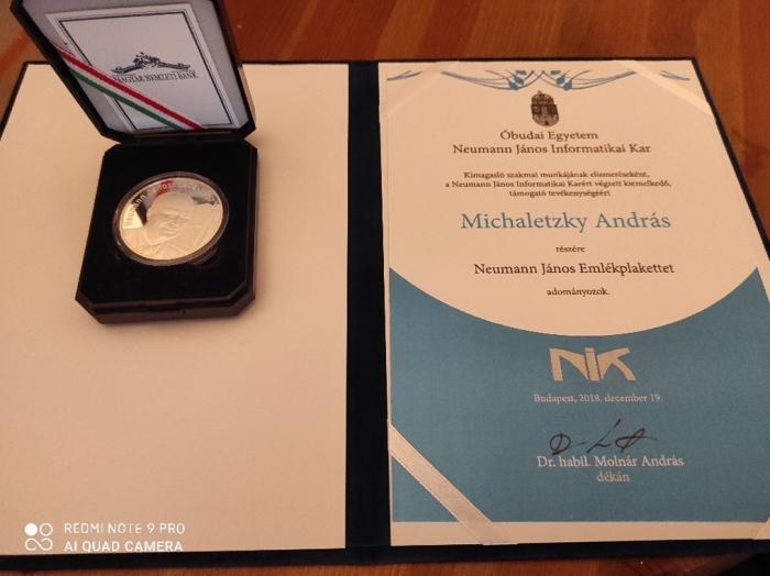 Andras Michaletzky Award